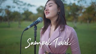 SAMPEK TUWEK - DENNY CAKNAN ( Ipank Yuniar ft. Novi Sasmita Cover & Lirik )