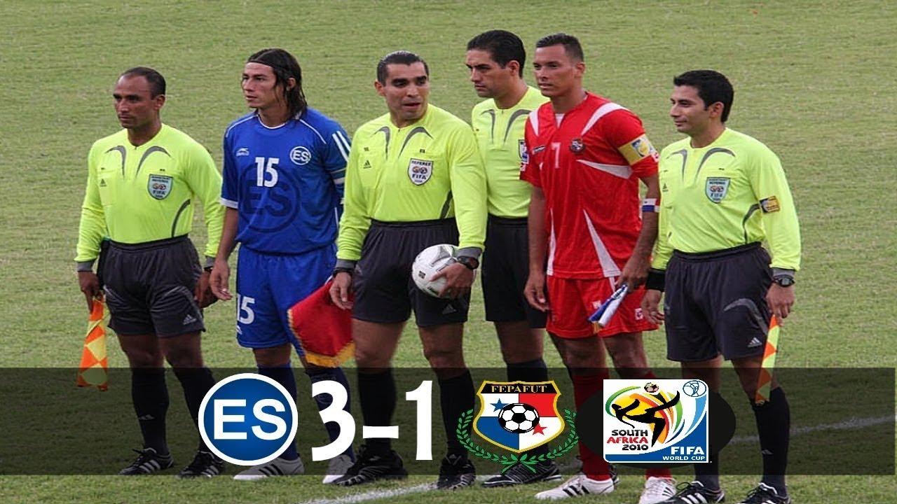 El Salvador 3 Vs Panama 1 Full Game  Wcq2010
