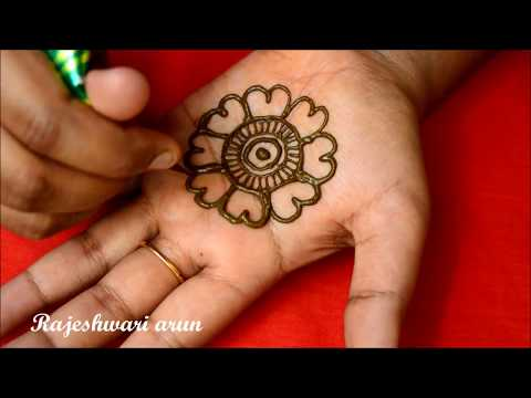 Simple Arabic Mehndi Design For Hands * Latest New Mehndi Design *Easy Beautiful Henna thumbnail