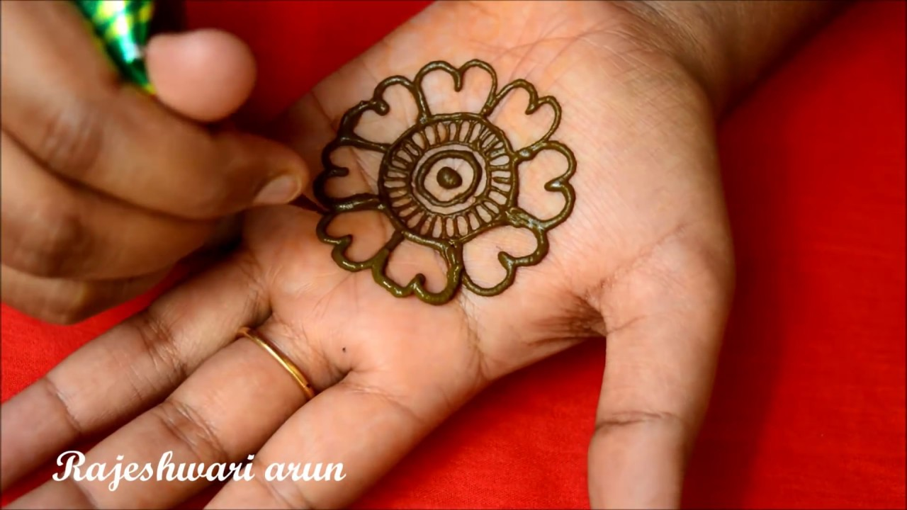 Simple Arabic Mehndi Design For Hands Latest New Mehndi Design