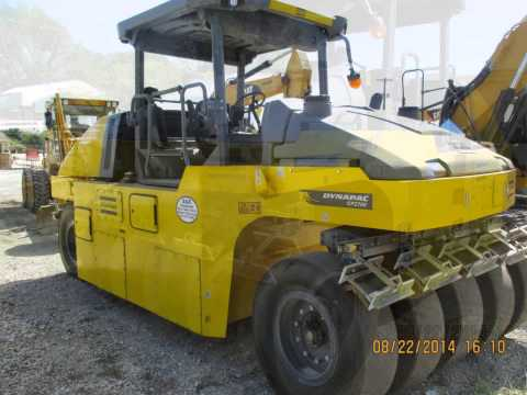 Heavy Construction Equipment Compaction Rollers