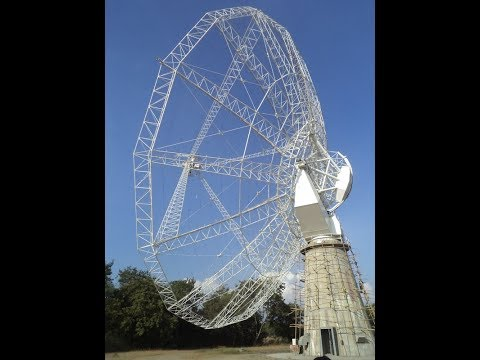 World's largest Giant Metrewave Radio Telescope (GMRT) - Khodad, Maharashtra