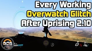 Every Working Glitch in Overwatch After Uprising 2.10 - OCG Glitch Out of Map