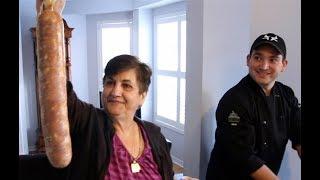 Making Homemade Soppresatta with Carmela Panza