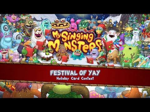 My Singing Monsters Festival of Yay Card Contest - YouTube