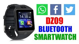 DZ09 SmartWatch I Bluetooth SmartWatch I How to connect with your phone via bluetooth & application