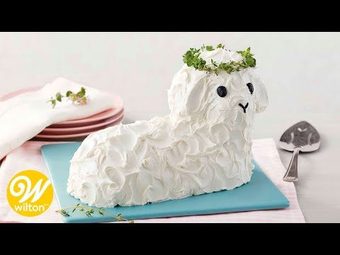How to Make an Easter Lamb Cake | YouTube