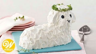 How to Make an Easter Lamb Cake  Wilton