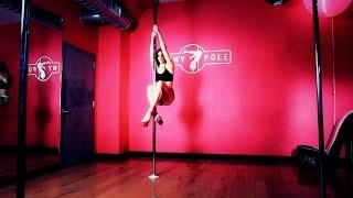 How to Do a Pole Climb | Pole Dancing