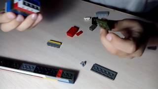 Как постр оить пистолет из Лего