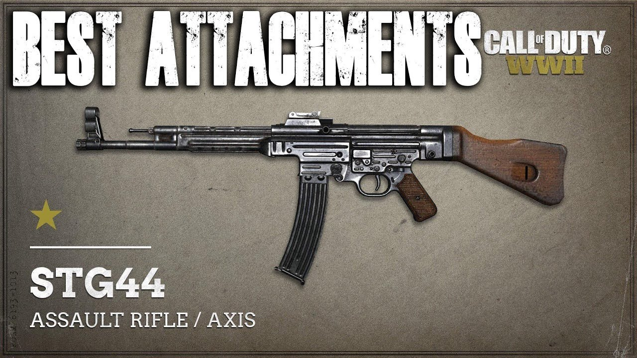 Best Stg 44 Attachments Call Of Duty World War 2 Cod Ww2 Youtube