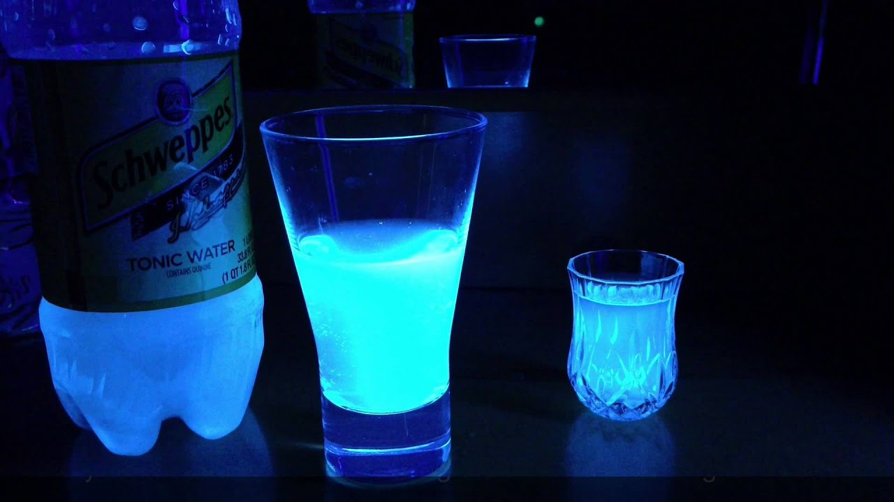 Glow In The Dark Drinks Without Tonic Water