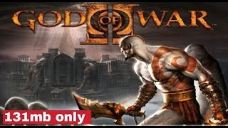 God of war download only 131mb //high graphics