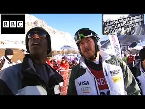 Michael Johnson Downhill Skier - BBC Inside Sport Special