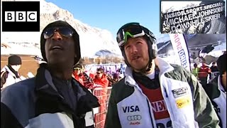 Michael Johnson Downhill Skier BBC Inside Sport Special