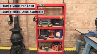 Clarke Csr5150rp 150kg Boltless Garage Shelving