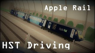 Apple Rail | HST Drive | Roblox (Outdated)