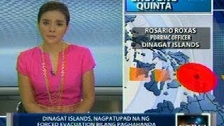 Saksi: Forced evacuation, ipinatupad sa Dinagat Islands
