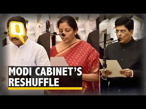 Nirmala Sitharaman Is New Defence Minister, Goyal Gets Railways | The Quint