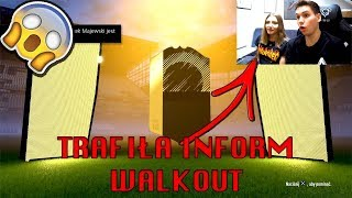 MOJA DZIEWCZYNA TRAFIŁA 2x KARTĘ INFORM!! - FIFA 18 DRUŻYNA IKON [#25]