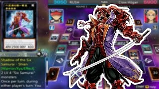 Yu-Gi-Oh! ARC-V Tag Force Special - Six Samurai!