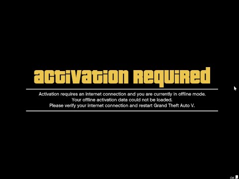 Grand Theft Auto V GTA V Activation Required Fix ( - YouTube