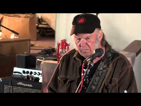Neil Young & Promise of the Real - Hold Back The Tears - 2015