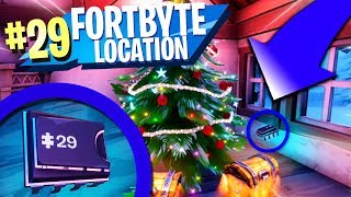 Fortbyte 29 Location - Found Underneath The Tree In Crackshot's Cabin