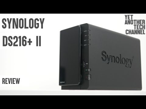 Synology DS216+ II review - entry level NAS server for power users