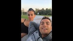 Cristiano Ronaldo   Instagram Live Stream   17 April 2018 w/ Ronaldo Jr & Girlfriend