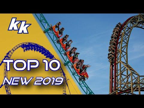 TOP 10: Best New Roller Coasters 2019
