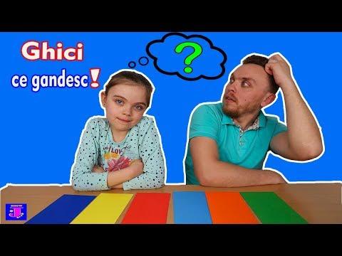 GHICI CUM GANDESC   Un Challenge cu Intrebari si Surprize   Foarte Interesant!