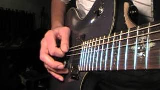 Guitar lesson: Pinch Harmonics, Guitar Squeals (Metalcore?)