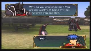 Fire Emblem: Path of Radiance - Chapter 11 | Black Knight Boss Quotes