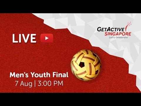 Sepaktakraw: Men's Youth Final | Singapore National Games 2016