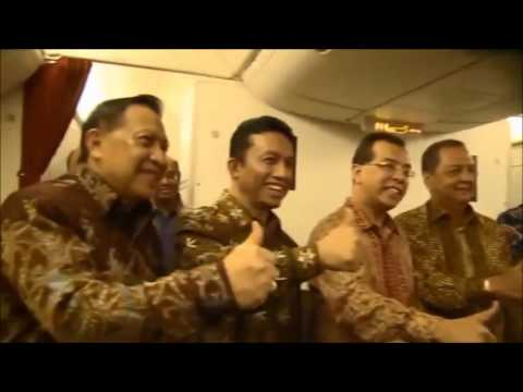 Garuda Indonesia Theme Song - Boeing 777-300ER Launching