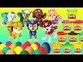 🍭 Playdough Eggs Paw Patrol Video Fun Surprise Play Doh Eggs Playlist