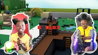 WE WENT TO THE ROBLOX WORLD (Michelle killed the aliens)