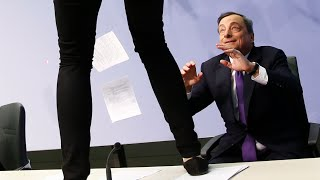 "Gerald Celente - Trends In The News -  Mario ""The Little Boy Coward"" Draghi - (4/15/15)"
