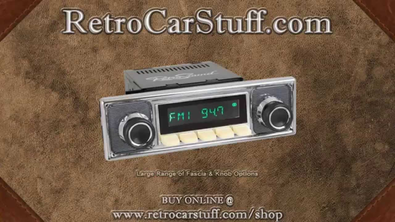 Classic Retro Style Spindle Radio Demo Aux Usb And Bluetooth