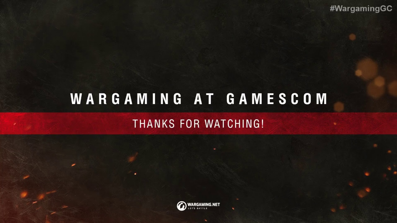 Wargaming @ Gamescom 2017: World of Tanks Live #2