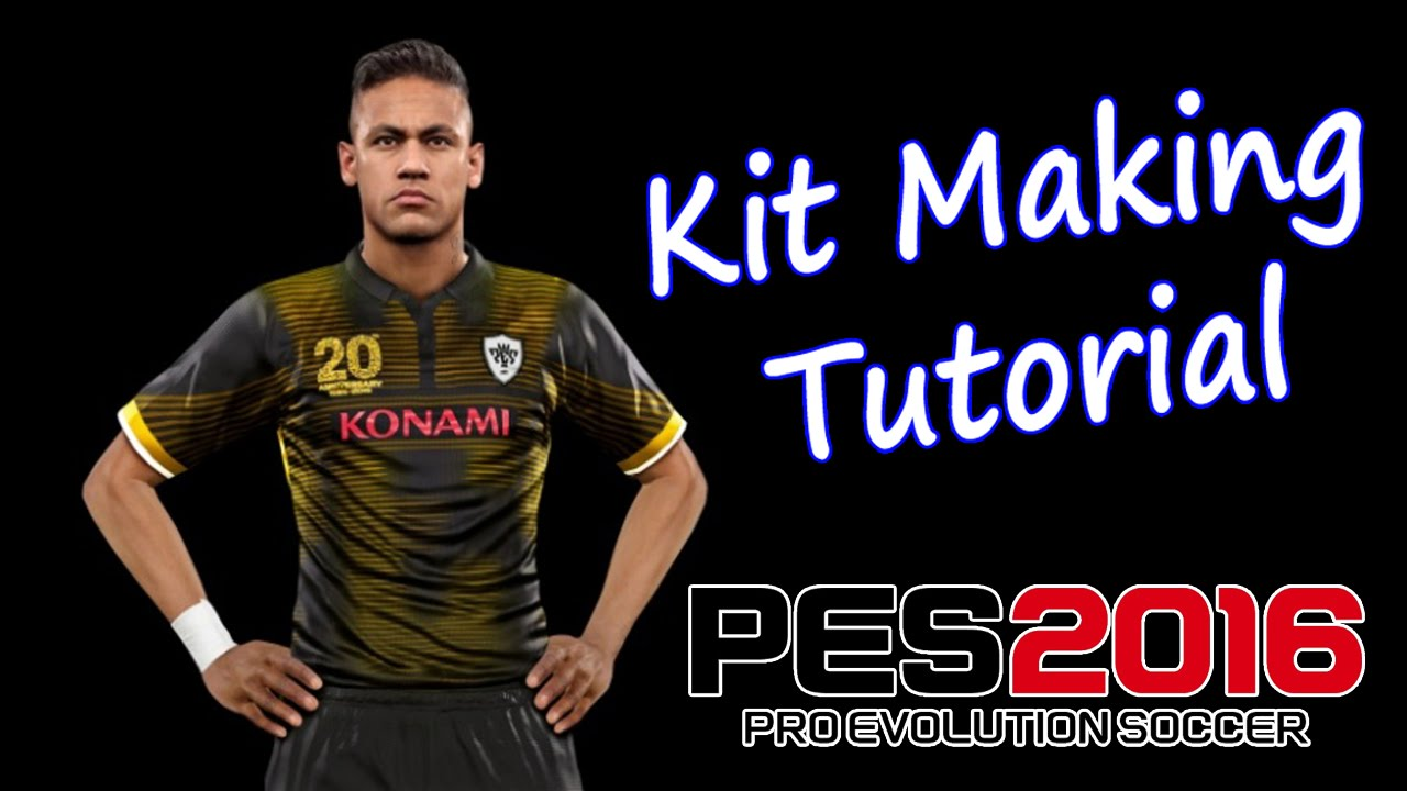 PES 2016 Kits GDB - Create and Convert to Cpk file - YouTube