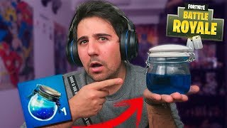 THE MAGIC School POTION !! - FORTNITE IN REAL LIFE - ElChurches