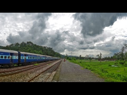 Indian Railways in MONSOON : Incredible DOOARS Journey through Wildlife Sanctuaries