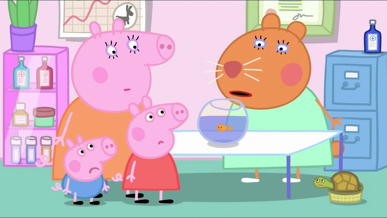 Peppa Pig - Goldie the Fish (23 episode / 3 season) [HD]