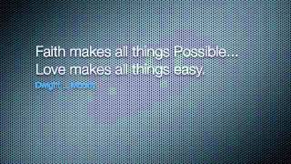Never give up! Everything is possible - Quotes