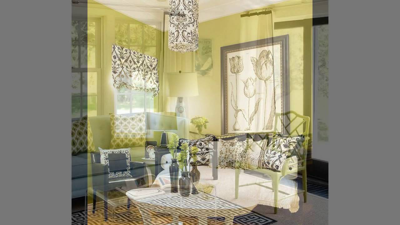 lime green living room ideas - youtube