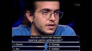 Kim Milyoner Olmak İster? Galatasaray lisesinden Çagdaş ve işte milyonluk soru! 2017 Video