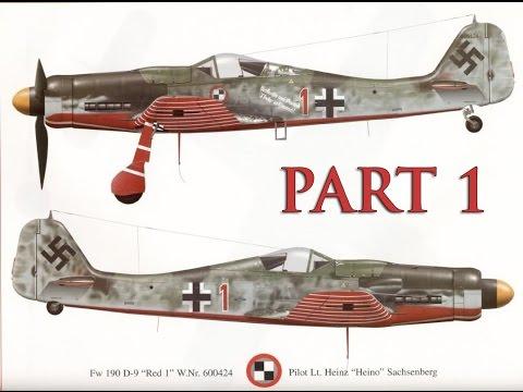 Tamiya 1/48 Focke Wulf FW190 D-9 JV44 PART 1
