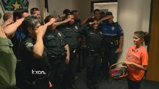 10 year old brings Austin police to tears with two simple words